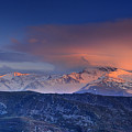 Mulhacen And Alcazaba And Veleta Panoramic by Guido Montanes Castillo