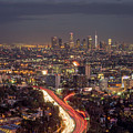 Mulholland Drive View by Brad Boland