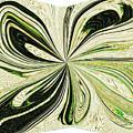 Multi-color Butterfly Pillow by Debra Lynch