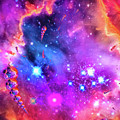 Multi Colored Space Chaos by Matthias Hauser