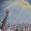 Multitude Of Worshippers by Gregory Staton