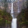 Multnomah Falls 3 by Ingrid Smith-Johnsen