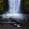 Multnomah Falls 5 by Ingrid Smith-Johnsen