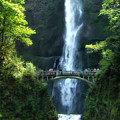 Multnomah Falls by Mike Nellums