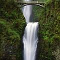 Multnomah Falls, Oregon, Usa by Dan Sherwood