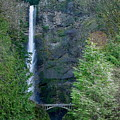 Multnomah Falls by PJ  Cloud
