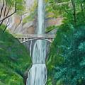 Multonomah Falls by Gene Ritchhart
