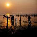 Mumbai Sunset by M G Whittingham