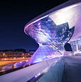Munich Bmw Lines And Curves by Hannes Cmarits