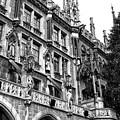 Munich Rathaus Christmas by John Rizzuto