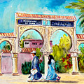 Municipality In Ait Ourir In Morocco by Miki De Goodaboom