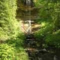 Munising Falls by Michael Peychich