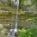 Munising Waterfall by Michael Peychich