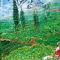 Munnar Tea Gardens by Narayan Iyer