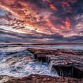 Muriwai Sunset by Steven Hirsch