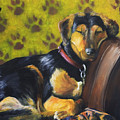 Murphy Vi Sleeping by Nik Helbig