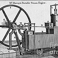 Murrays Portable Steam Engine, 19th by Wellcome Images