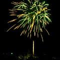 Murrells Inlet Fireworks by Bill Barber