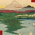 Musashi Noge Yokohama - Noge Yokohama In Musashi Province by Utagawa Hiroshige