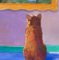 Museum Cat 2 by Jimmie Trotter