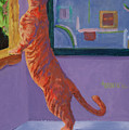 Museum Cat by Jimmie Trotter