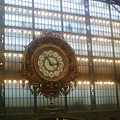 Museum D'orsay Clock by Valerie Ornstein
