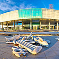 Museum Of Contemporary Art In Zagreb by Brch Photography