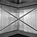 Museum Of Contemporary Art In Zagreb Detail by Brch Photography