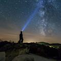 Mushroom Rocks Phenomenon Under The Night Sky by Nikolay Stoimenov