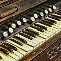 Music - Pump Organ - Antique by Paul Ward