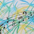Music Burst by Amy Wilkinson
