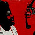 Music Icons - Aretha Franklin Ill by Joost Hogervorst