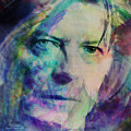 Music Icons - David Bowie Ill by Joost Hogervorst