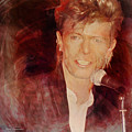 Music Icons - David Bowie Iv by Joost Hogervorst