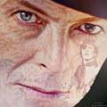 Music Icons - David Bowie Vll by Joost Hogervorst