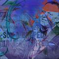Music Icons - Frank Sinatra Iv by Joost Hogervorst