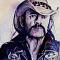 Music Icons - Lemmy Kilmister Iv by Joost Hogervorst