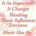 Music Importance Word Art by Isabella Howard
