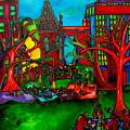 Music In The Park by Patti Schermerhorn