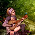 Music In The Woods by John Junek