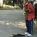 Music In Tompkins Square by Joseph  Cusano IV
