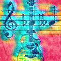 Music Is Everything In Colors by Debra and Dave Vanderlaan