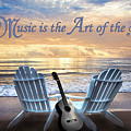 Music Is The Art Of The Soul by Debra and Dave Vanderlaan