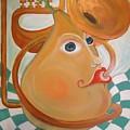 Music Loving Pear. I Love Pears by Gregory Milgram