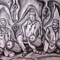 Music-making For Cosmic Unity #1 by Mbonu Emerem