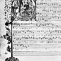 Music Manuscript, 1450 by Granger