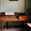Music Room With Piano by Susan Savad