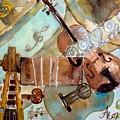 Music Shop by Anna Ruzsan