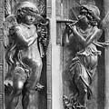 Musician Angels, C1450 by Granger
