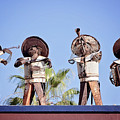 Musicians At The Hotel California Todos Santos Mx by Deana Glenz